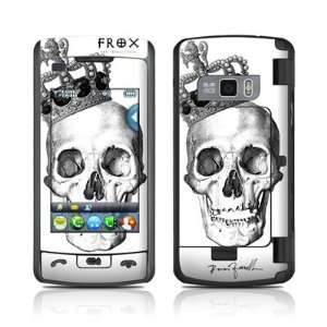 Skull King Design Protective Skin Decal Cover Sticker for