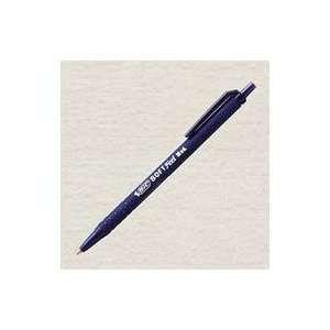 Soft Feel Retractable Ballpoint Pen, .7mm, Fine Point, Nonrefillable