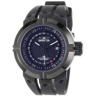 Stainless Steel Force Quartz GMT Black Dial Strap Watches