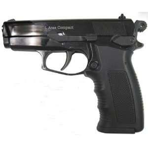 Compact Front Firing Blank Gun/Starter Pistol, Black