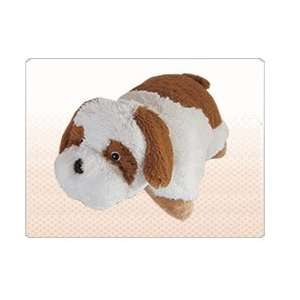 Pillow Pets Large 19 Bernard Dog{puppies} Stuffed Plush Animal [Toys