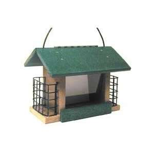 Recycled Plastic Seed Suet Feeder: Patio, Lawn & Garden