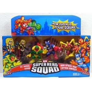 Marvel Superhero Squad Avengers Assemble Mini Figure 4 Pack [Iron