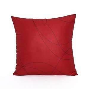 20 X 20 Modern Red Throw Pillow Cover
