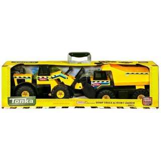 Tonka Mighty Dump Truck and Front Loader Combo : Toys & Games :
