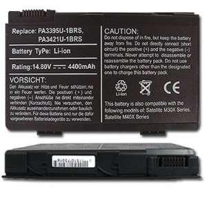NEW Laptop/Notebook Battery for Toshiba pa3395u 1brs