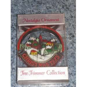 Hallmark Nostalgia Christmas Ornament Tree Trimmer Peace