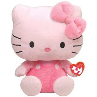 Ty Pluffies   Hello Kitty Purple Toys & Games