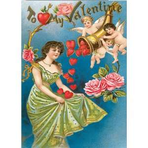 High Quality Horn of Plenty Hearts Valentines Day Cards School Package