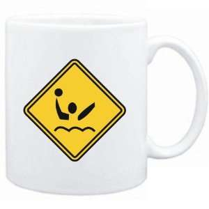 Mug White  Water Polo SIGN CLASSIC / CROSSING SIGN  Sports