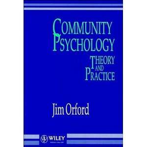 Community Psychology Theory and Practice [Paperback] Jim
