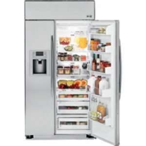 Ft. Stainless Steel Built In Side By Side Refrigerator Kitchen
