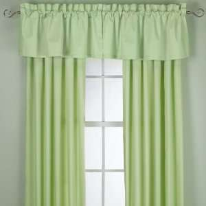 KIWI Green Color Tabtop Window Panel Curtain   84 inch Home & Kitchen