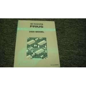 2005 Toyota Prius Electrical Wiring Diagram Manual OEM