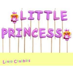 Lovely Chubblies Little Princess & Princess Candles  Pack