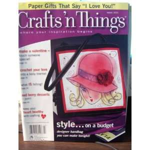 Crafts n Things Magazine March 2005 Inc. Craft Ideas