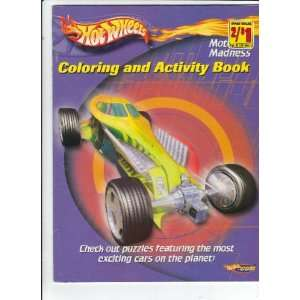 Hot Wheels Motor Madness (Coloring and Activity Book
