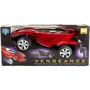 Blue Hat Vengeance Car   Red Toys & Games