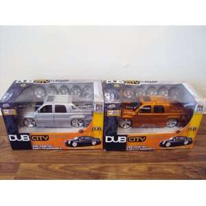 Dub City Dubshop 124 2002 Cadillac Escalade EXT Toys & Games