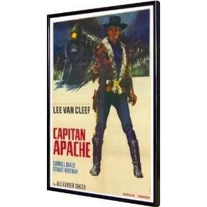 Captain Apache 11x17 Framed Poster