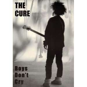 Cure Boys Dont Cry Music Poster / Robert Smith 20x30
