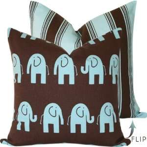 Elliott the Elephant Collection   18 Throw Pillow Cover