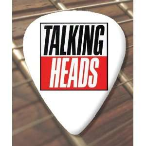 Talking Heads Logo Premium Guitar Pick x 5 Medium Musical