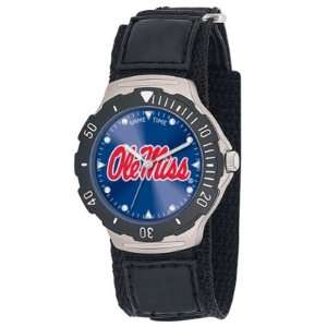 Mississippi Ole Miss Rebels Game Time Agent Velcro Mens NCAA Watch