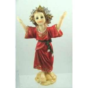 Statue Divino Nino   5 inches Baby Jesus   Colombia Nino