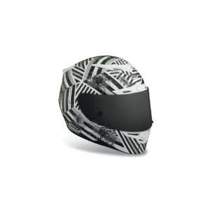 Bell RS 1 Shattered Helmet   X Small/Black/White