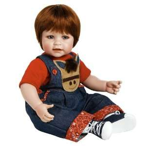Adora Baby Doll 20 Giddy Up Boy (Red Hair/Blue Eyes) : Toys & Games