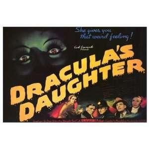 Draculas Daughter 1936 27x40 MOVIE POSTER