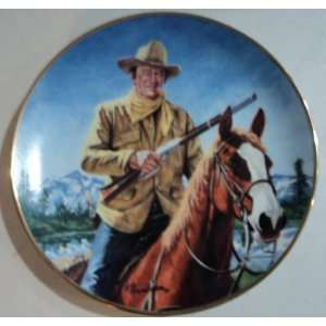 High Country John Wayne Plate