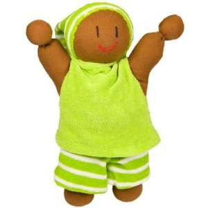 Rag Doll Stripe Lime  Toys & Games