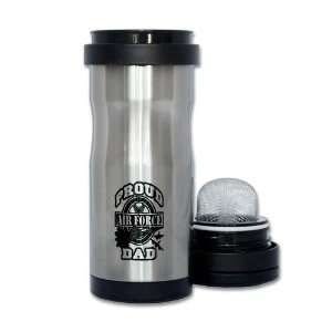 Thermos Tea Tumbler Bottle Proud Air Force Dad Jets: Everything Else
