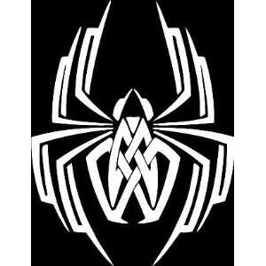 Spider insect tribal vinyl window decal sticker 009