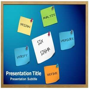SIX SIGMA Powerpoint Template   SIX SIGMA Powerpoint (PPT