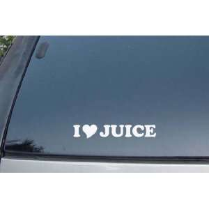 Love Juice Vinyl Decal Stickers