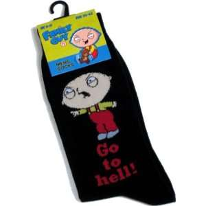 Feturing Stewie Griffin Go To Hell! (Uk Size 6 11): Toys & Games