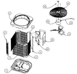 carrier rv ac air conditioner std profile blower wheel. Black Bedroom Furniture Sets. Home Design Ideas