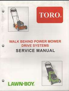 1990 2002 TORO WALK BEHIND LAWN MOWER SERVICE MANUAL