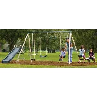 flexible flyer backyard fun swing set 789066 swing sets at
