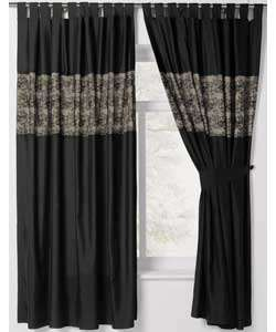 Buy Inspire Lace Curtain   Black   66 x 72inch at Argos.co.uk   Your