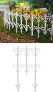 Heart Scroll Garden Border Plastic Edging Yard Decor NEW I5313