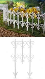 Heart Scroll Garden Border Plastic Edging Yard Decor NEW I5313 |