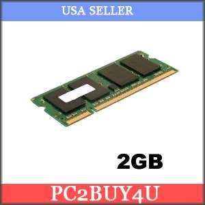2GB RAM MEMORY FOR Pavilion DV6000 zd8000 zd8001 zd8002