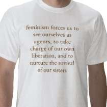 feminism forces us to see ourselves  shirt by drnandi