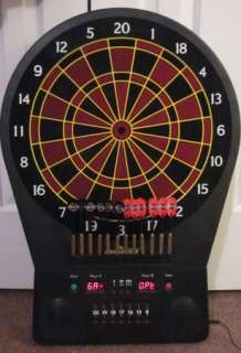 Arachnid Electronic Dart Board Game with 12 Soft Tip Darts GC!
