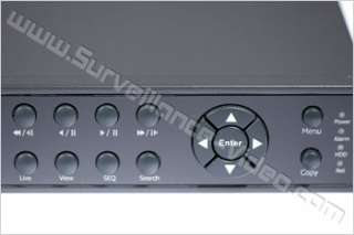 EVERFOCUS ECOR8D 1T NETWORKABLE 1000 GB 8CH 240 FPS DVR WITH DVD