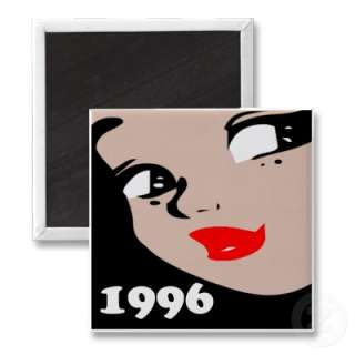 14th Birthday Gifts, 1996 Girl! Classic cartoon style 14th gifts for